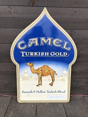 TIN PLATE SIGN 「CAMEL」