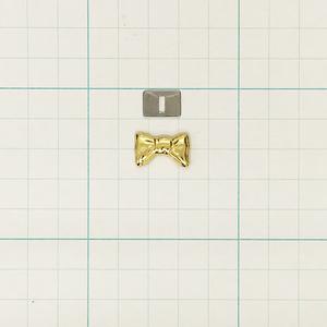 ブローチ リボンA(座金付) G