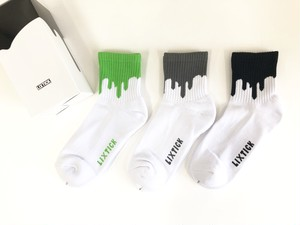 【LIXTICK】Drip Socks 3pack(1st)