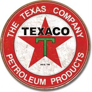 引続きセール主力商品20%OFF!  【ブリキ看板】 Texaco - The Texas Company 【ティンプレート】 1926