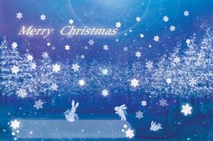 クリスマスカード(夜景)