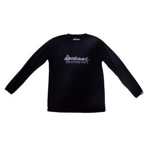 ロングスリーブドライTシャツ:ネイビー