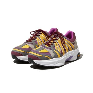 VIBRAM SOLE CONTRASTED SNEAKER - PURPLE