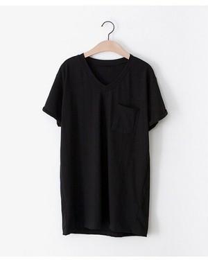 2672. オーバーサイズTシャツアンドストレッチライン入りパンツ 黒