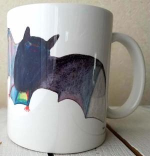 コウモリマグカップ