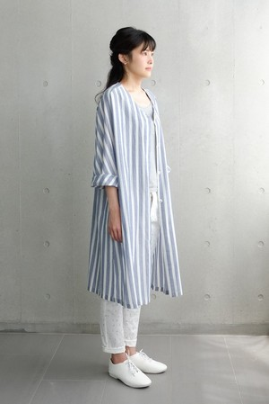 kazanami long shirts-navy-