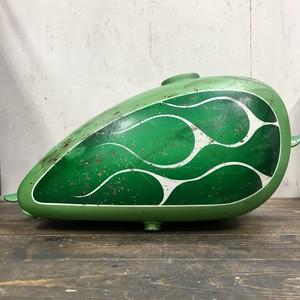 塗装済ピーナッツタンク 緑 白 フレイムス エイジング