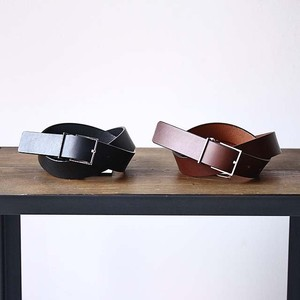 【ALLEGE】 LEATHER BELT