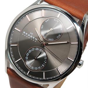 スカーゲン SKAGEN クオーツ メンズ 腕時計 SKW6086 グレー グレー