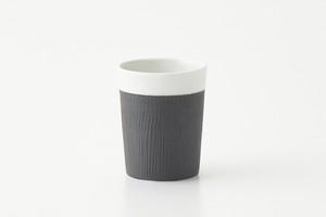 内白マット(YH-1) 黒飛び鉋 Cap Cup