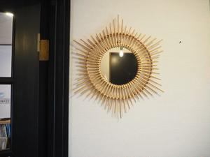 decoration etoile mirror