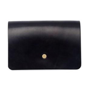forme Hand wallet Cordvan navy