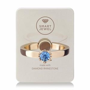 Smart Jewel-Lady Crown‐Champagne Gold-9月‐17SJ8-1-SGDSAP