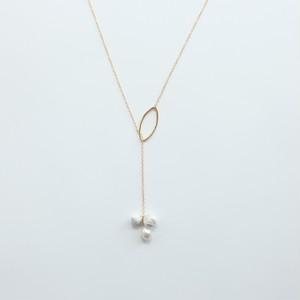 ciito (しいと) mitsubu lariat necklace (ネックレス)