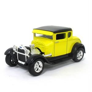Maisto ミニカー 1:24 1929 フォードモデルA イエロー No.200-137