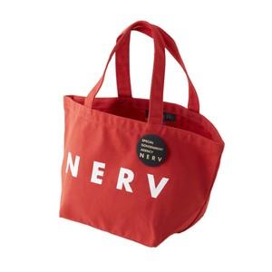 NERV Lunch Bag (レッド×ホワイトBG) / RADIO EVA
