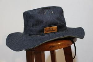 選べるステッチ デニムハット帽