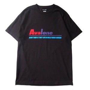 AVALONE AW17 ANOTHER STORY A.D2048 SHORT SLEEVE TEE / BLACK