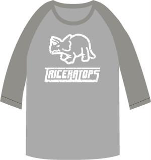 恐竜ラグランTシャツ【S】