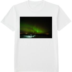 82.Finland100 Tシャツ / オーロラウォッチング