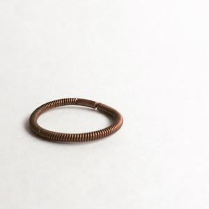 アンティークピアノ弦のリング  Piano string ring