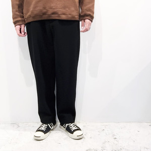 I 【アイ】 NO PLEATS WOOL SLACKS