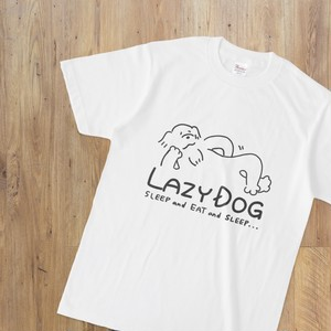 LAZY DOGTシャツ 白