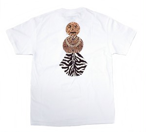 QUARTERSNACKS SAFARI SNACKMAN CHARITY TEE WHITE L