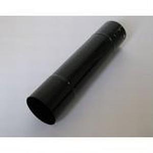 ホクアイ ホーロー煙突ブラック 直管 φ106 457mm