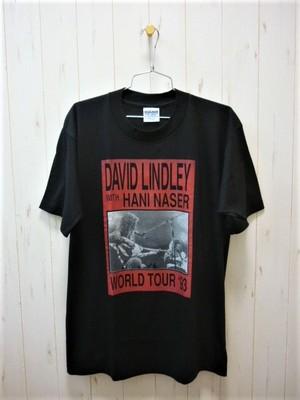 David Lindley w/Hani Naser World Tour '93 T-Shirt/Dead Stock (デビッドリンドレー ハニナサ― '93/デッドストック・未使用)