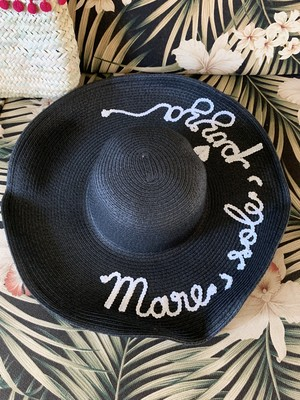 Mare Sole Pizza HAT Floppy Black