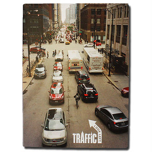 Traffic Skateboards / Look Left /スケートビデオ /  DVD