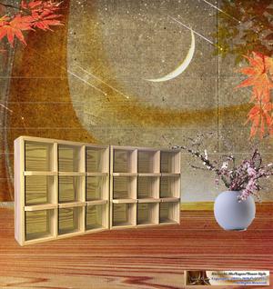 KIRISASHI.MsBOX正規2セット/無塗装タイプ/ハンドメイド
