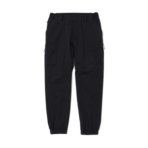SOLOTEX TWILLED TECH CARGO PANTS - BLACK