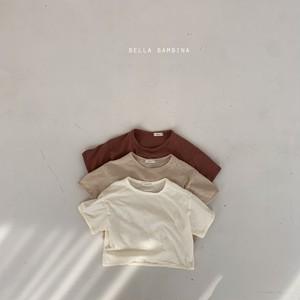 『翌朝発送』rough plain T-shirt〈bella bambina〉【baby】