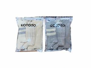 【ROTOTO】Organic Cotton Special Trio Socks