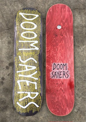 Doom Sayers James Scrawl 8.28