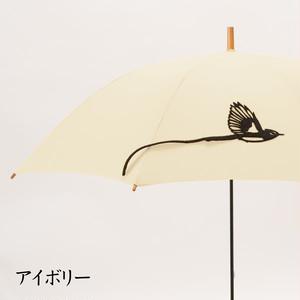 【ミクロチュン特典】tail サンコウチョウの傘 アイボリー