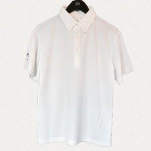 Vond×Golf/BETTING GOLFERS CLUB/BGC/ドライシルキーポロシャツ/ホワイト