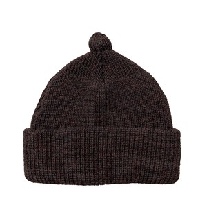 NOROLL / GERMINATE SOLID BEANIE -WINE-