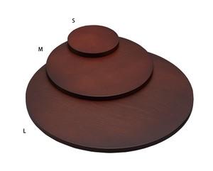 木製ステージMサイズ円形 木目塗装 1648NW-M