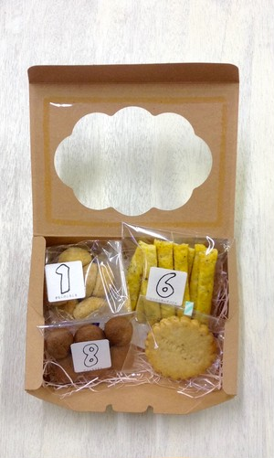 箱詰めクッキーおまかせセットSS