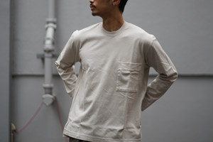 CURLY / FROSTED L/S POCKET TEE