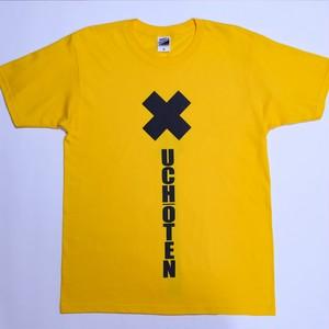 タテロゴ半袖Tシャツ(黄)