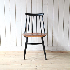 Fanett Chair(Black × Natural)Ilmari Tapiovaara スウェーデン 1959