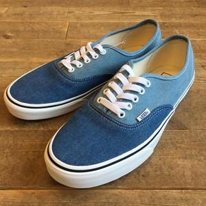 VANS(バンズ) Authentic  (Denim 2-Tone) blue/true white