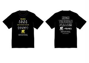 POLYSICS / キュウソネコカミ 20th ANNIVERSARY T-SHIRTS  BLACK
