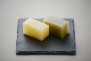 雲仙緑茶入りじゃが芋羊羹/10切入