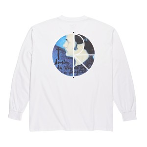 POLAR SKATE CO. Torsten Fill Longsleeve white ポーラー ロングTシャツ