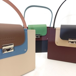Colorful Leather 2way Bag